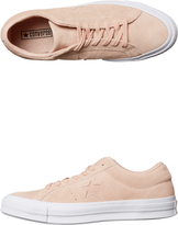 Converse Womens One Star Suede Shoe Pink