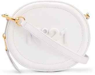 No.21 Round Leather Crossbody Bag