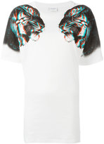 Marcelo Burlon County of Milan tiger print T-shirt - women - Cotton/Polyester - S