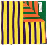 Acne Studios x Jacob Dahlgren colour-block striped scarf