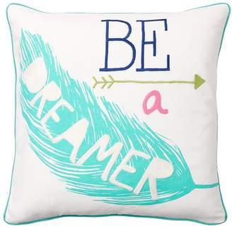 Pottery Barn Teen Coastal Inspiration Pillow Cover, Dreamer