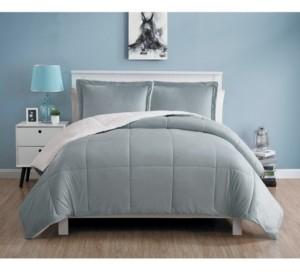 VCNY Home Micromink Sherpa Comforter Set, Queen Bedding