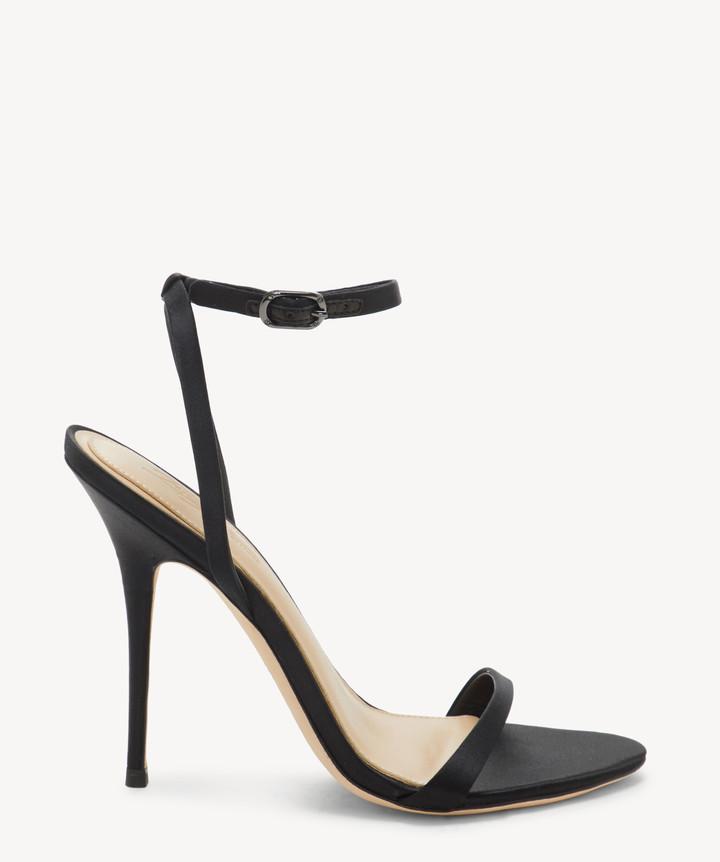 Sole Society Imagine Women's Vince Camuto Reyna - Ankle Strap Sandals Black Size 10 SPECCHIO/SPECCHIO PU From