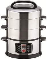 Hannex 17 Qt. 2-Tier Electric Food Steamer