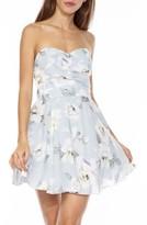 TFNC Women's Minnie Strapless Fit & Flare Dress