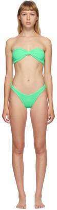 Hunza G Green Jean Bikini