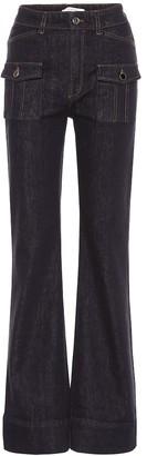 Dorothee Schumacher Denim Love high-rise flared jeans