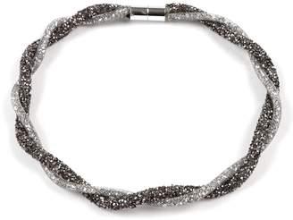 Amrita Singh Women's Necklaces Gunmetal - Gunmetal Lurex Collar Necklace