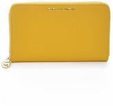 Carla Mancini Yellow Jenny Leather Wallet