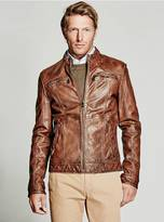 GUESS Bonded Leather Jacket