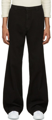Billy Black Elevated Work Trousers