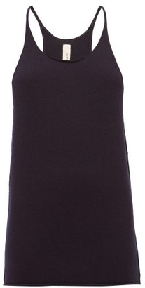 Extreme Cashmere - No. 58 Invisible Stretch-cashmere Tank Top - Womens - Navy