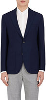Barneys New York Men's Brad Wool Hopsack Two-Button Sportcoat
