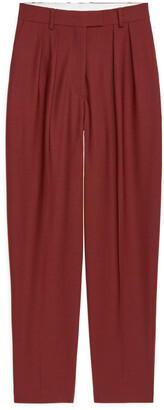 Arket Wool Twill Trousers