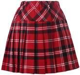 Beautifulfashionlife Genetic Women`s Double Layer Elasticated Pleated Skirt (M, )