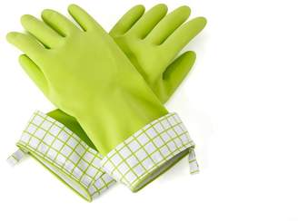 Full Circle Natural Latex Cleaning Gloves Medium/Large