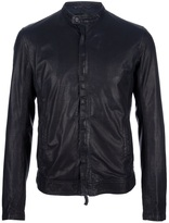 Emporio Armani perforated leather jacket