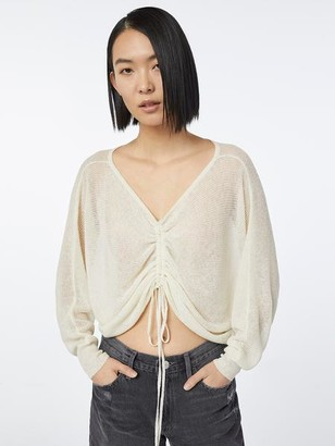 Frame Imaan x Front Cinched Sweater