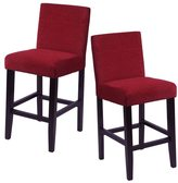 Monsoon Aprilia Upholstered Counter Chairs (Set of 2)