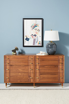 Anthropologie Avalene Eight-Drawer Dresser By in Brown Size ALL