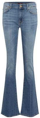 7 For All Mankind YR2000 mid-rise bootcut jeans