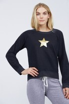 Monrow Vintage Sweatshirt w/ Gold Star