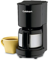 Cuisinart 4-Cup Black Coffeemaker with Stainless Steel Carafe