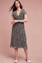 Anna Sui Penny Silk Midi Dress