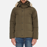 Canada Goose Men's Wyndham Parka Military Green