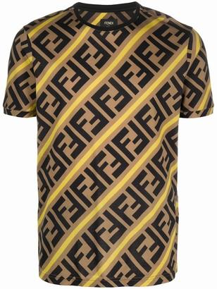 Fendi FF-logo cotton T-shirt