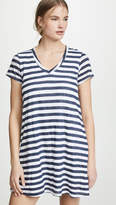 Wilt Striped Short Sleeve Dress
