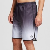 RBX Men's Ombre Swim Trunks with Compression Jammer