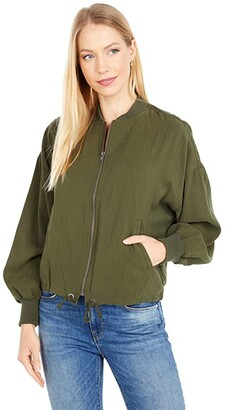 BB Dakota Great Escape Jacket (Army Green) Women's Clothing