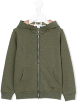Burberry zip-up hoodie - kids - Cotton - 4 yrs