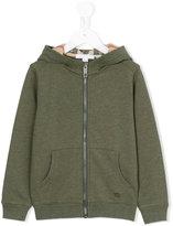 Burberry zip-up hoodie - kids - Cotton - 6 yrs