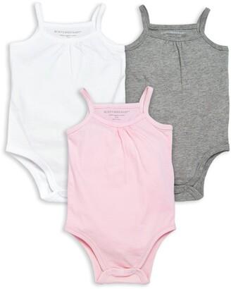 Burt's Bees Classic Organic Baby Bodysuit 3 Pack