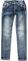 Miss Me Girls Big Girls 7-16 Embellished Cross Flap Pocket Skinny Jeans