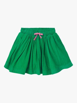 Boden Girls' Woven Twirly Corduroy Skirt