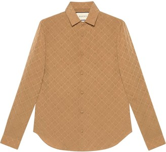 Gucci GG jacquard shirt