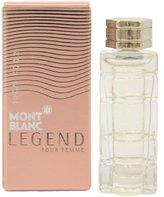 Montblanc Mont Blanc Legend Pour Femme By Mont Blanc Eau De Parfum .15 Oz Mini