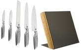 Kalorik Haus Designer Black Dot 5-Piece Stainless Steel Knife Set