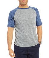 Daniel Cremieux Jeans Short-Sleeve Color Block Raglan Tee