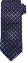 Eton Floral Geometric Silk Tie