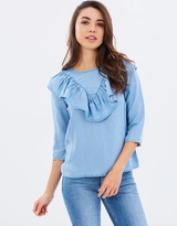 Only Mona Frill Shirt