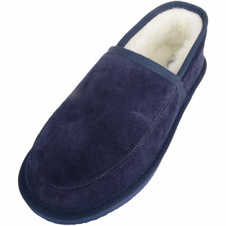 SNUGRUGS Charlie Lambswool Slippers with Lightweight Sole