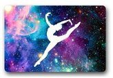 "Custom Door Mat Gymnastic Galaxy Indoor / Outdoor / Floor Doormat 23.6""(L) x 15.7""(W) Doormats Floor Mat Door Mat Rug"