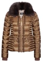 Bogner Inda-D Fringe Back Puffer Jacket