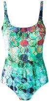 Lygia & Nanny - abstract print swimsuit - women - Polyamide/Spandex/Elastane - 40