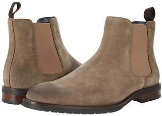 Steve Madden Tipler Chelsea Boot (Taupe Suede) Men's Shoes