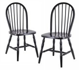Winsome Wood Assembled 29-Inch Windsor Chairs, Set of 2, Finish